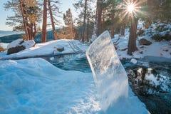 美丽的太浩湖加利福尼亚 图库摄影