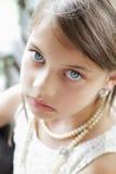 美丽的夫人年轻人 免版税库存照片