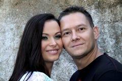 美丽的夫妇爱年轻人 免版税库存照片
