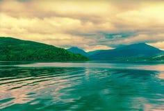 美丽的奈斯湖 图库摄影