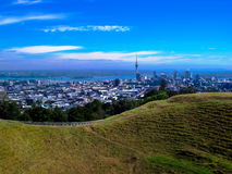 美丽的奥克兰,新西兰的惊人的看法 图库摄影