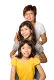 美丽的女儿系列二年轻人 库存图片
