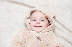 美丽的女婴 免版税库存照片