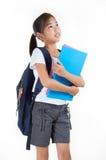 美丽的女学生 免版税图库摄影