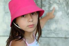 美丽的女孩一点 免版税库存图片
