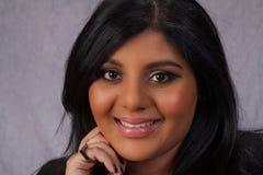 美丽的女孩印地安人 库存照片