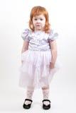 美丽的女孩头发红色年轻人 库存照片