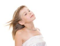 美丽的女孩少年 免版税库存图片