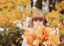 美丽的女孩少许纵向 免版税库存照片