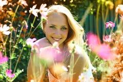 美丽的女孩年轻人 库存照片