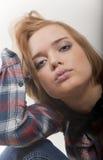 美丽的女孩性感的周道的关系 免版税库存照片
