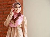 美丽的女孩穆斯林 库存照片