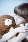 美丽的女孩红头发人 免版税库存照片