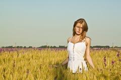 美丽的女孩 图库摄影