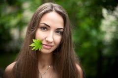 美丽的女孩 免版税库存照片