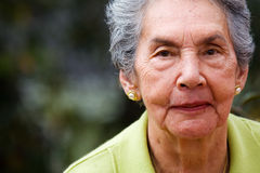 美丽的女性前辈 免版税库存照片
