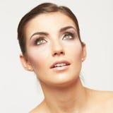 美丽的女性模型年轻人 免版税图库摄影