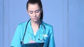 美丽的女性医生画象  股票录像