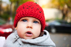 美丽的女婴 免版税图库摄影