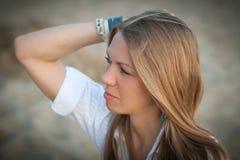 美丽的妇女年轻人 库存图片