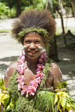 美丽的妇女所罗门群岛 免版税库存照片