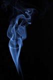 美丽的妇女的图象由发烟制成 库存照片