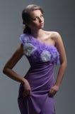 美丽的妇女 艺术方式照片工作室 免版税图库摄影