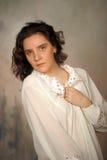 美丽的妇女s画象 免版税库存照片