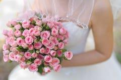 美丽的婚礼花束 免版税库存图片