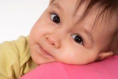 美丽的婴孩一点 免版税库存图片