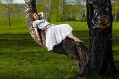 美丽的嬉皮女孩 免版税图库摄影
