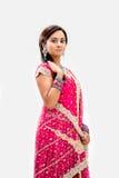 美丽的孟加拉新娘 免版税图库摄影