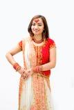 美丽的孟加拉新娘 库存图片