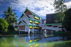 美丽的学校在泰国 库存图片