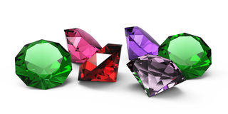 美丽的宝石 免版税库存照片