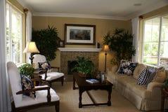 美丽的客厅 免版税图库摄影