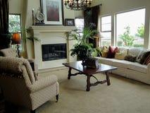 美丽的客厅 免版税库存照片