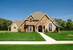 美丽的家庭房子 免版税库存图片