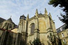 美丽的宽容哥特式样式大教堂 库存图片