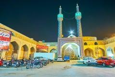 美丽的寺庙在亚兹德 免版税图库摄影