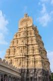 美丽的寺庙在斯赫里朗格阿帕特塔纳,卡纳塔克邦,印度 库存图片