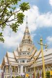 美丽的寺庙泰国 wat wat worawihan sothon的wararam 库存照片