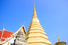 美丽的寺庙 免版税库存照片