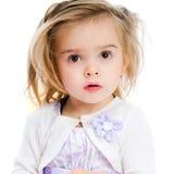 美丽的小女孩 免版税库存图片