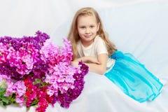 美丽的小女孩5-6年 库存图片