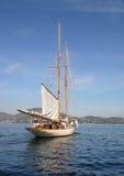 美丽的小船 免版税库存照片