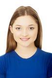 美丽的少年妇女年轻人 免版税库存图片