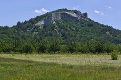 美丽的山在俄罗斯 免版税库存图片