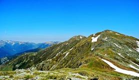 美丽的山照片 免版税库存照片