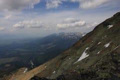 美丽的山 库存照片